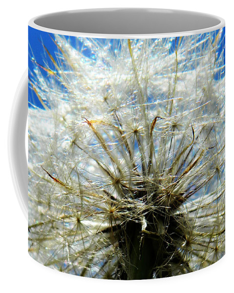 Dandelion Coffee Mug featuring the photograph Life In Details by Andrea Anderegg