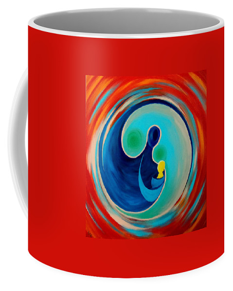 Life Coffee Mug featuring the painting Life by Timothy Michaels Flores