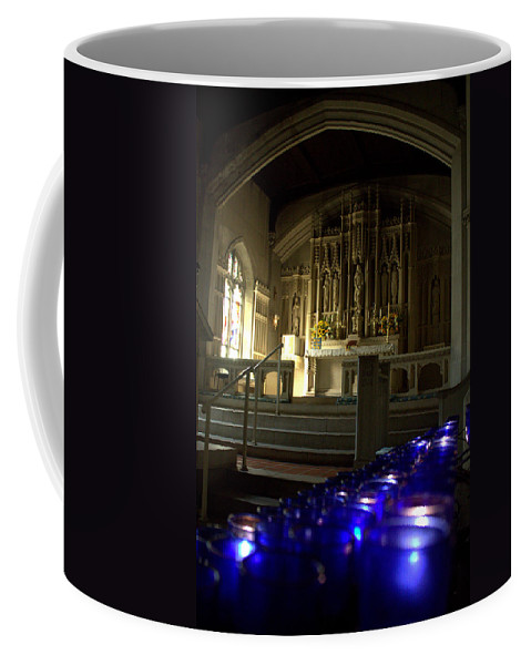 Light A Candle Coffee Mug featuring the photograph Light A Candle by Shannon Louder