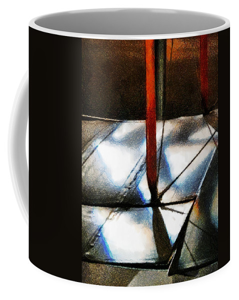 Sopwith Coffee Mug featuring the photograph Light Across The Wings by Steve Taylor