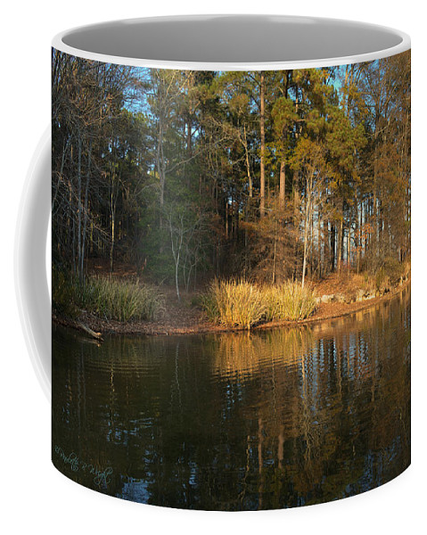 Popular Coffee Mug featuring the photograph Light From The Golden Hour by Paulette B Wright