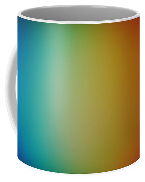 Prism Coffee Mug featuring the photograph Light Refracted - Rainbow Through Prism by Denise Beverly
