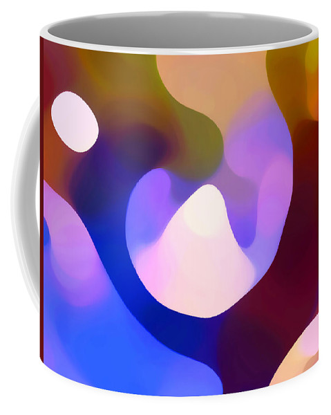 Coffee Mug featuring the painting Light Through Branch by Amy Vangsgard