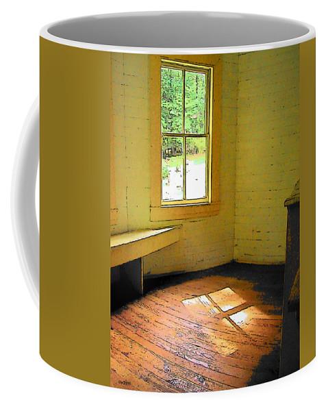 Rebecca Korpita Coffee Mug featuring the photograph Light Through The Window by Rebecca Korpita