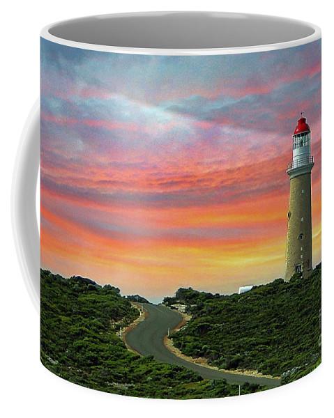 Landscape Coffee Mug featuring the photograph Lighthouse 2 by Ben Yassa