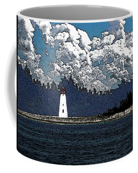 Nassau Bahamas Coffee Mug featuring the photograph Lighthouse by Aimee L Maher ALM GALLERY