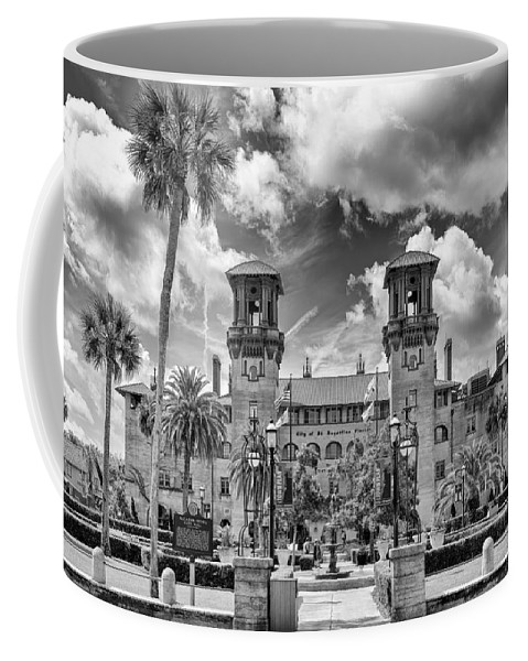 St. Augustine Coffee Mug featuring the photograph Lightner Museum  by Howard Salmon