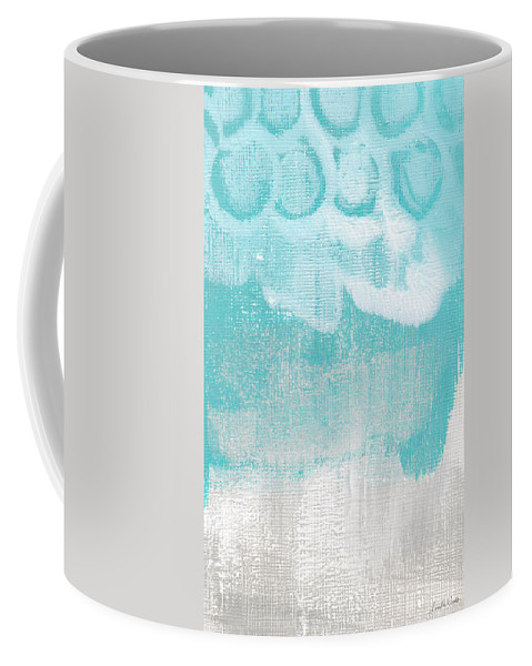 Abstract Coffee Mug featuring the painting Like A Prayer- Abstract Painting by Linda Woods