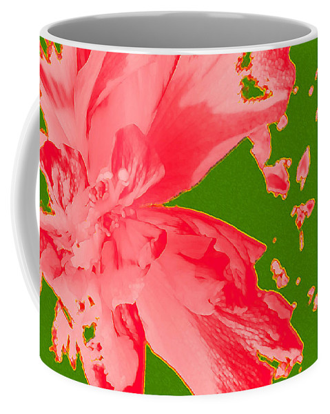 Photography Coffee Mug featuring the digital art Like Fireworks On The 4th Of July by James Temple