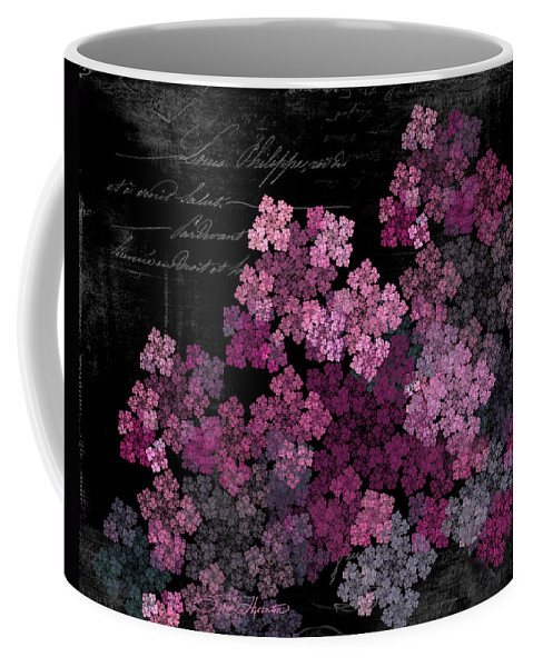 Lilac Coffee Mug featuring the photograph Lilacs by Sylvia Thornton