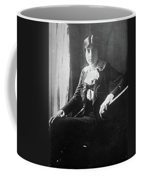 1918 Coffee Mug featuring the photograph Lili Boulanger (1893-1918) by Granger