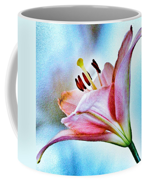 Lily Coffee Mug featuring the photograph Lily by Marianna Mills