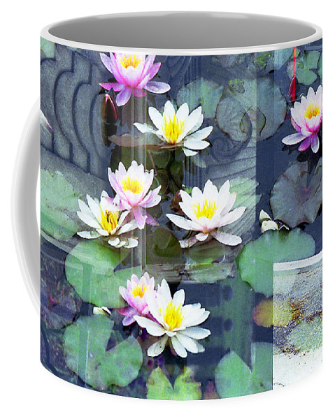New York City Coffee Mug featuring the photograph Lily Pads by Rosie McCobb