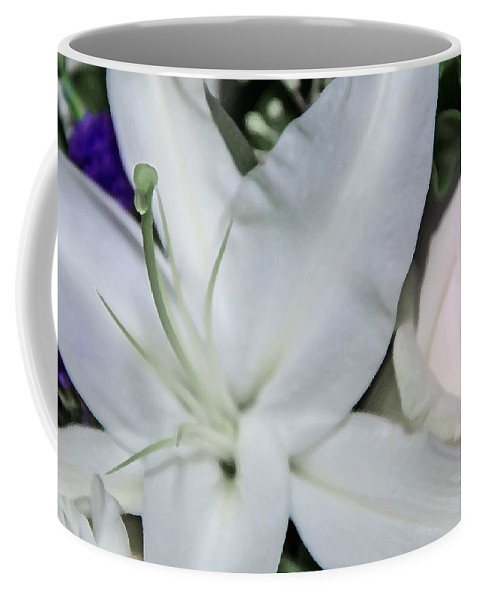 Lilyrose Coffee Mug featuring the photograph Lilyrose by Susan McMenamin