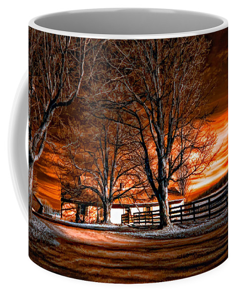 Farm Coffee Mug featuring the photograph Limbo by Steve Harrington