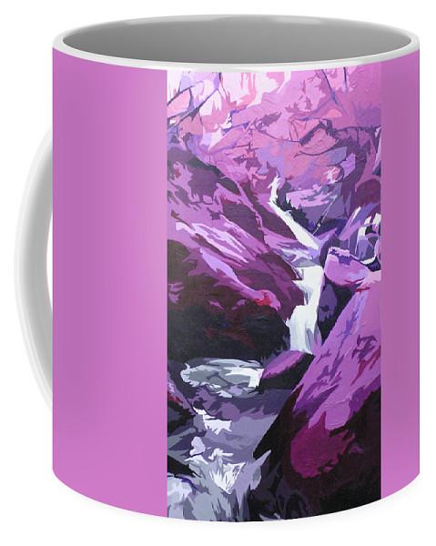 Creek Coffee Mug featuring the painting Limpy Creek by Joshua Morton