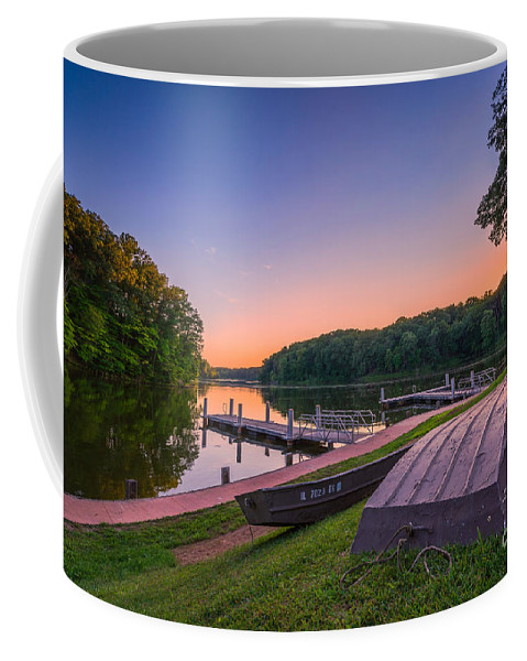 Lincoln Trail State Park Coffee Mug featuring the photograph Lincoln Trail State Park by Michael Ver Sprill