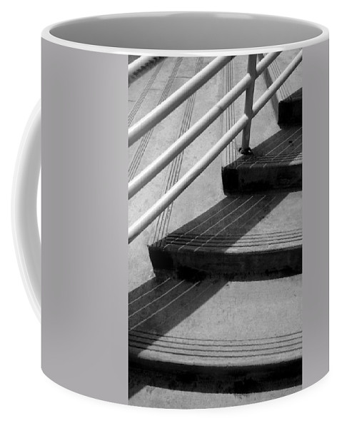 Architecture Coffee Mug featuring the photograph Linear In Four Four Time by Joe Kozlowski