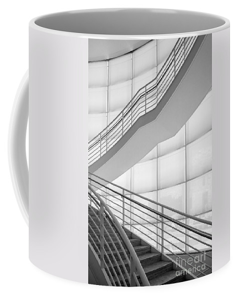 Lines Coffee Mug featuring the photograph Lines And Shadows by Patrice Dwyer