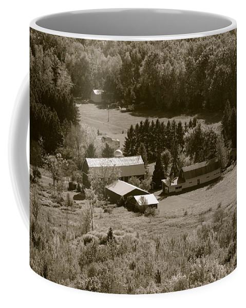 Farm Coffee Mug featuring the photograph Little Bit Of Life by Tiffany Erdman