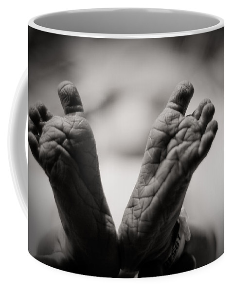 3scape Photos Coffee Mug featuring the photograph Little Feet by Adam Romanowicz