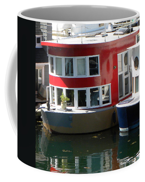 Red Coffee Mug featuring the photograph Little Red by Brigitte Mueller