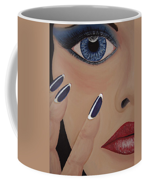Beautiful Coffee Mug featuring the painting Little Wing by Dean Stephens