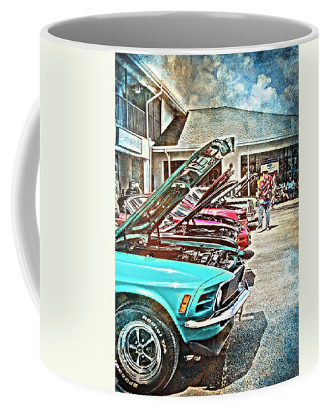 Vintage Coffee Mug featuring the photograph Living Through The Past by Judy Hall-Folde