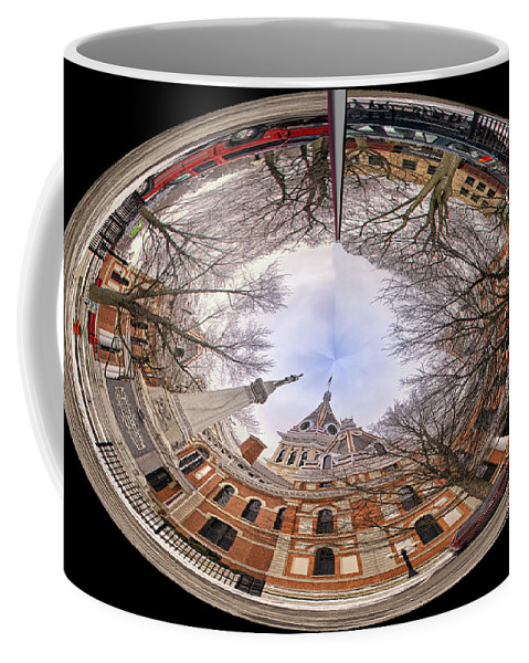 Orbs Coffee Mug featuring the photograph Livingston County Polar View by Thomas Woolworth
