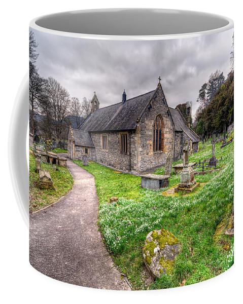 Architecture Coffee Mug featuring the photograph Llantysilio Church by Adrian Evans