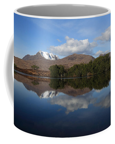 Loch Cul Dromannan Coffee Mug featuring the photograph Loch Cul Dromannan by Maria Gaellman