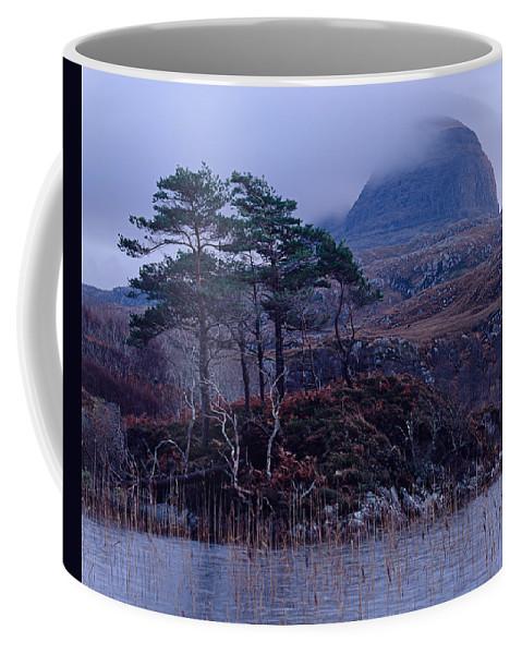 Scotland Coffee Mug featuring the photograph Loch Druim Suardalain by Tom Daniel