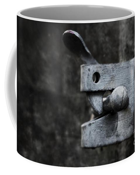Lock Coffee Mug featuring the photograph Lock by Svetlana Sewell