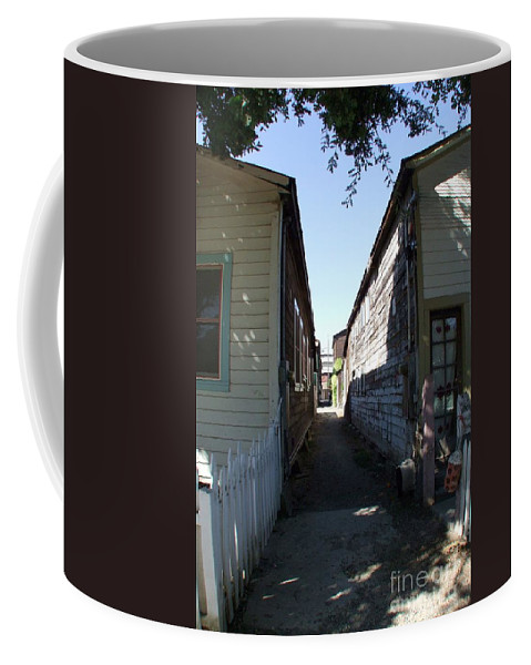 Alley Coffee Mug featuring the photograph Locke Chinatown Series - Back Alley - 6 by Mary Deal