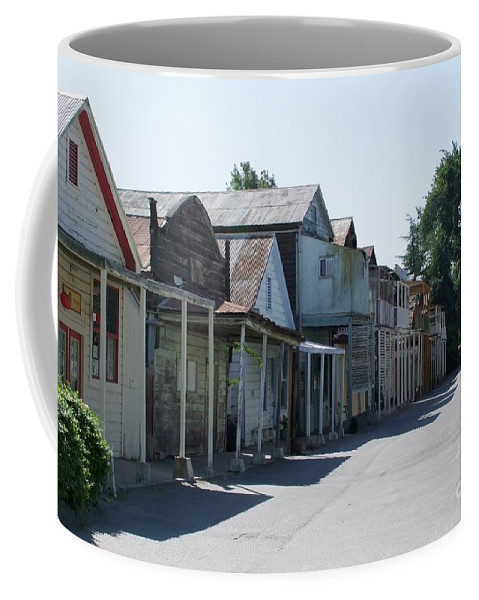 Landscapes Coffee Mug featuring the photograph Locke Chinatown Series - Main Street - 1 by Mary Deal