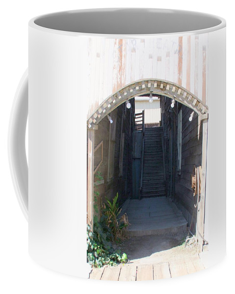 Buildings Coffee Mug featuring the photograph Locke Chinatown Series - Star Theatre - 2 by Mary Deal