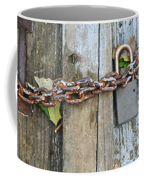 Arlington Cemetery Coffee Mug featuring the photograph Locked by Brittany Horton