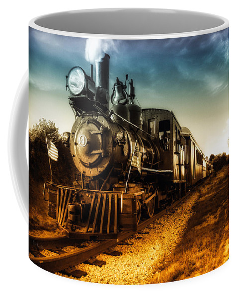 Train Coffee Mug featuring the photograph Locomotive Number 4 by Bob Orsillo