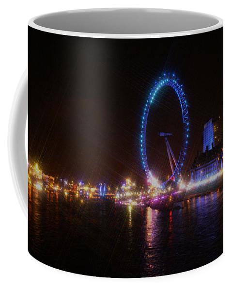 London Coffee Mug featuring the photograph London Eye Art by Doc Braham