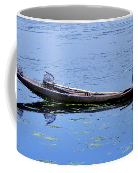Long Coffee Mug featuring the photograph Long Wait by Bliss Of Art