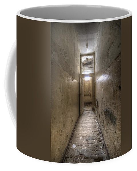 Old Coffee Mug featuring the digital art Long Way by Nathan Wright