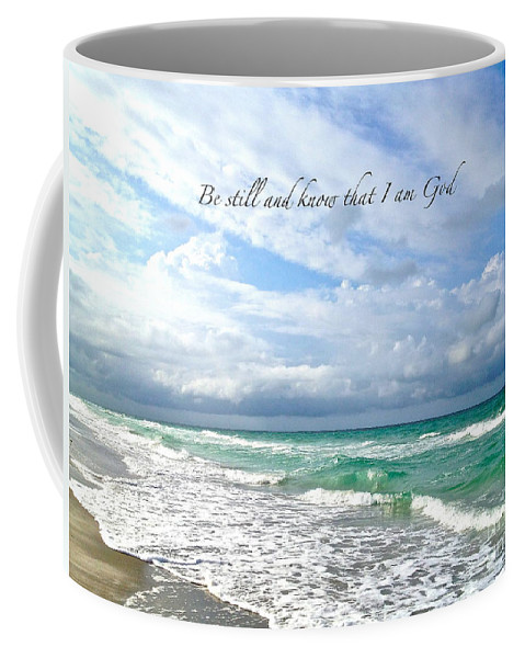 Ocean Coffee Mug featuring the photograph Be Still by Margie Amberge