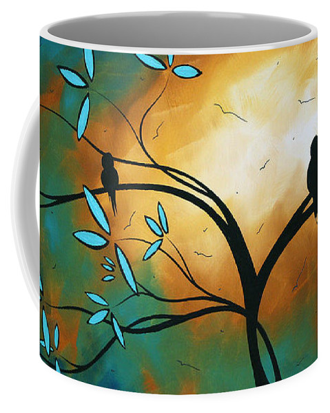 Art Coffee Mug featuring the painting Longing By Madart by Megan Duncanson