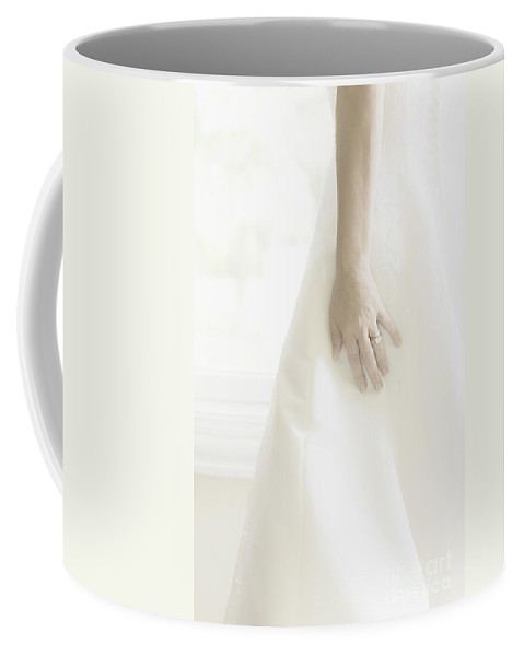 Caucasian Coffee Mug featuring the photograph Longing II by Margie Hurwich