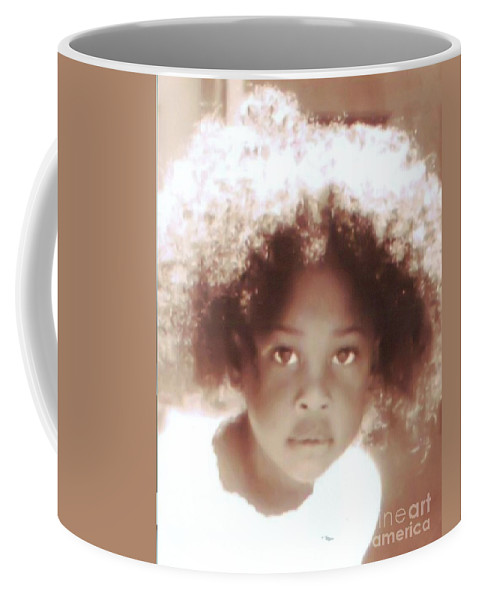 People Coffee Mug featuring the photograph Look Of Wonder by Michelle Stradford
