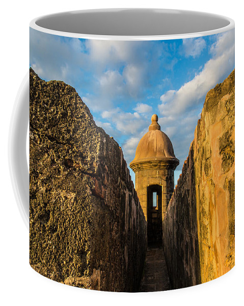 Puerto Rico Coffee Mug featuring the photograph Look Out by Kristopher Schoenleber