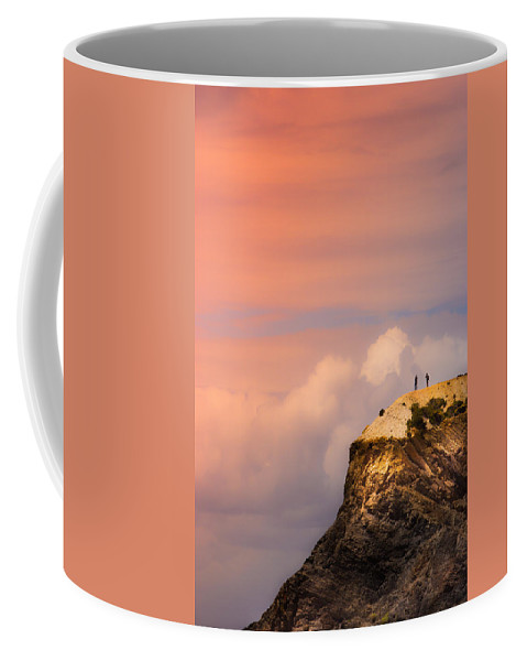 Together Coffee Mug featuring the photograph Look There by Edgar Laureano