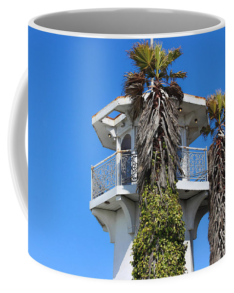 Pier 39 Coffee Mug featuring the photograph Look Up by Becca Buecher