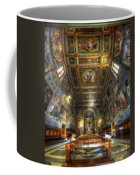 Yhun Suarez Coffee Mug featuring the photograph L'oratorio Del Santissimo Crosifisso by Yhun Suarez