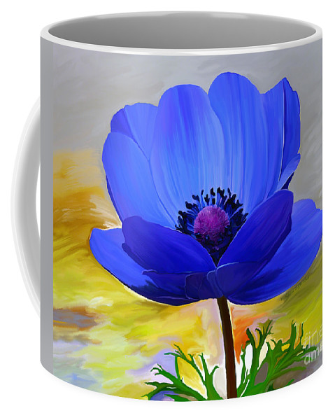 Fine Art Coffee Mug featuring the painting Lord Lieutenant by Patricia Griffin Brett